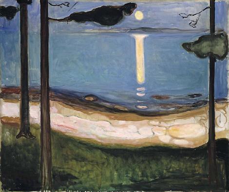 Munch - chiaro di luna